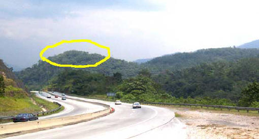 Bentong Malaysia  City new picture : Bentong Gombak old road